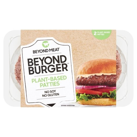 Beyond Meat Beyond Burger Plant Based Burger - Tesco Groceries